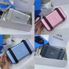 dior rimowa联名款盒子包各种颜色