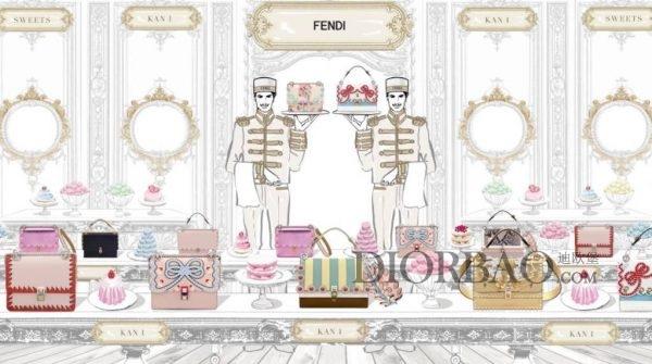 如果芬迪小怪兽是妙趣横生 那Kan I就是浪漫又少女心的包包