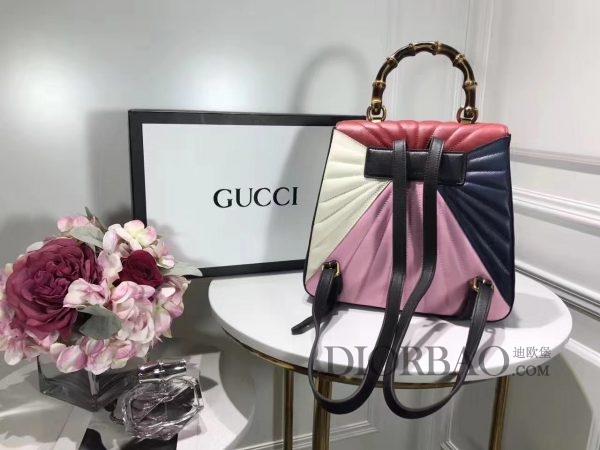 款式欣赏 Gucci Queen Margaret 玛格丽特皇后系列双肩包,实物拍摄,款式图片与价格
