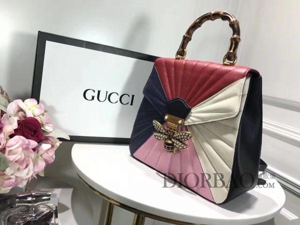 款式欣赏 Gucci Queen Margaret 玛格丽特皇后系列双肩包