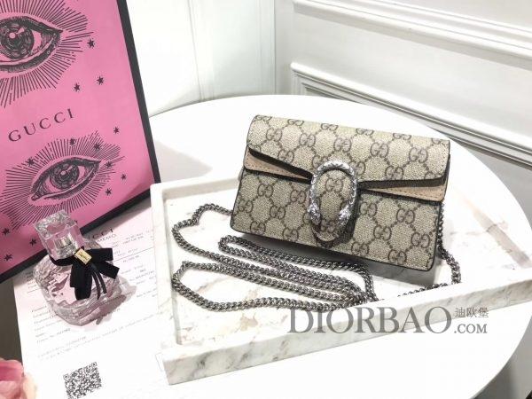 款式欣赏 款式设计 外观与细节,夏天最迷人的Mini Gucci酒神包 链条包
