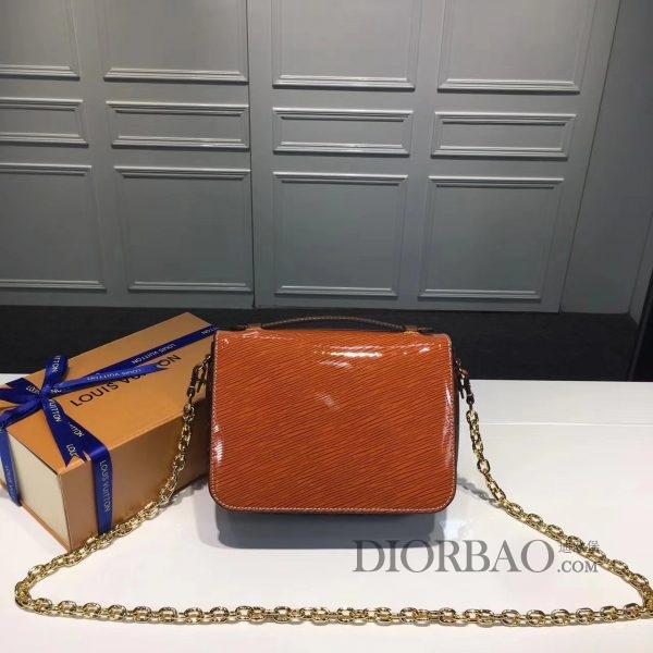 迷你款EPI POCHETTE METIS LV邮差包,橘黄色亮光漆皮,款式欣赏 款式图片与价格