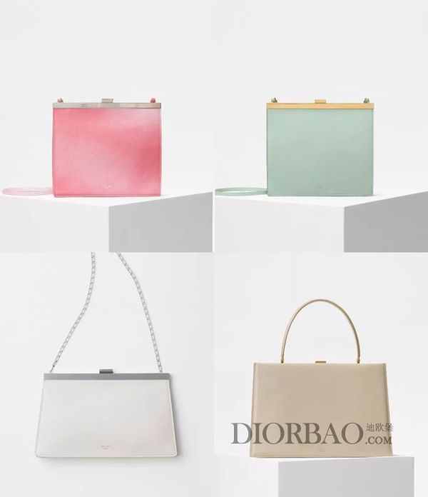 今年夏天流行的马卡龙色赛琳包包